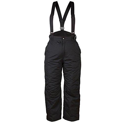 New Ski Pants Snowboarding Sking Trousers Salopettes Waterproof Windproof Warm Quality Work Camping Fishing Rainwear Trips TALL LEG BLACK 36