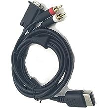 linyuan 1.8m VGA adaptador de sonido cable RCA de alta definición para Sega Dreamcast Consola