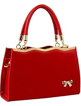 Menschwear Damen Handtasche Marken Handtaschen Elegant Taschen Shopper Reissverschluss Frauen Handtaschen 30cm