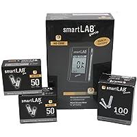 smartLAB genie Blutzuckermessgerät Bundel | Blutmessung-Kombi-Set mit 100 Blutzuckerteststreifen & 100 Lanzetten... preisvergleich bei billige-tabletten.eu