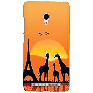 URBAN KOLOURS Original Designer Printed Hard Case Back Cover for Asus Zenfone 6 (Giraf)