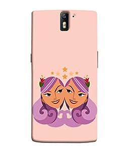 PrintVisa Designer Back Case Cover for OnePlus One :: OnePlus 1 :: One Plus One (Astrology Zodiac Star Flower Horoscope Raashi)