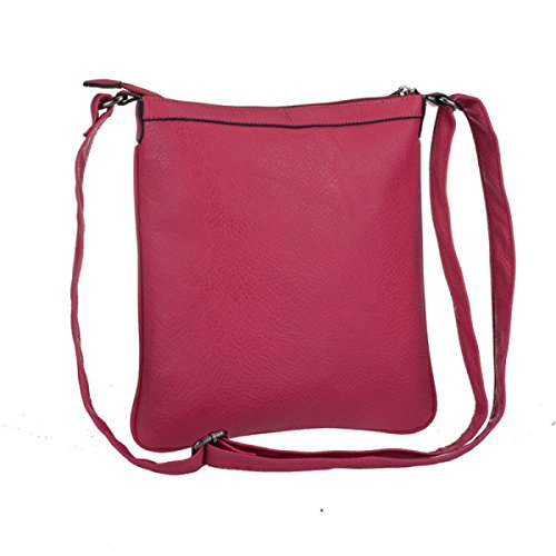 Damen Europa Und Die Vereinigten Staaten Schulter Wildes Trendy Kleines Quadratisches Paket Pink