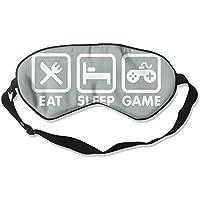 Eat Sleep Game 99% Eyeshade Blinders Sleeping Eye Patch Eye Mask Blindfold For Travel Insomnia Meditation preisvergleich bei billige-tabletten.eu