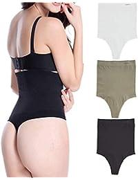 2af81f3f944ea Trifolium Women High Waist Shapewear Waist Butt Shaper Lifter Tummy Control  Body Thong 11011
