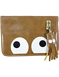 Surbhi Funky Light Brown Sling Bags For Girls Owl Bags Crossbody Sling Bag Messenger Sling Bag Mobile Sling Bag...