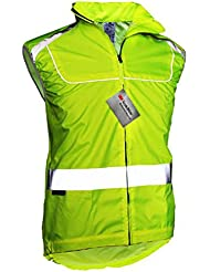 Chaleco Salzmann de Material Reflectante 3M Sotchlite de Seguridad Bicicleta Ciclismo Talla L 3556_L