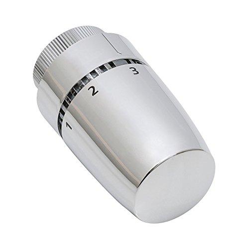 Tête thermostatisable élément cire - Inox
