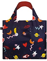 LOQI LOQI CELESTE WALLAERT Night Night Bag Borsa da viaggio con manico, 50 cm, Night Night