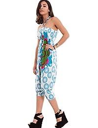 Toocool–Overall Mujer Harem Turquía pantalones Pelele vestido corto vestido nuevo 8082-mod