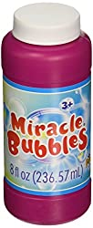 IMPERIAL TOY Mirable Bubbles Bottle, 8 oz, Multicolor