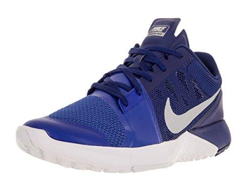 Nike Fs Lite Trainer 3, Baskets Basses homme Rcr Blue/Mtlc Pltnm/Deep Ryl Bl/Wh