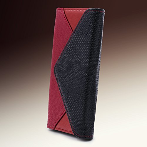 iPhone 7 / 8 Hülle, Urcover® Crocodile Portmonee Edition Handyhülle Schutz mit Karten- & Geldfach Case Cover Etui Wallet für Apple iPhone 7 / 8 Braun Braun