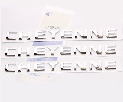 yoaoo-3x-oem-chrome-cheyenne-nameplates-emblems-badge-gm-chevrolet-silverado-shiny-3d-new-by-yoaoo-g