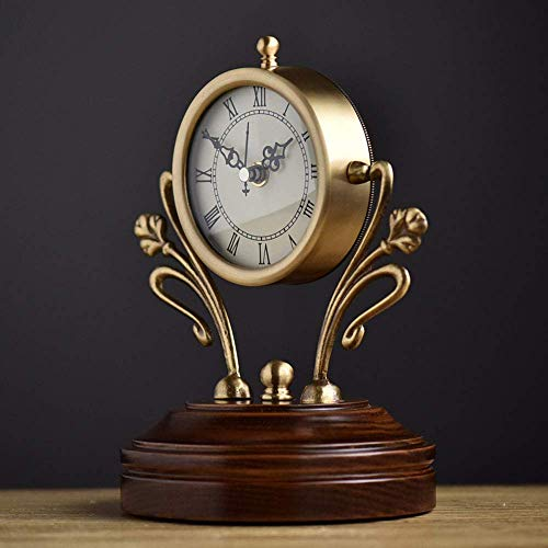 FCZH Relojes de sobremesa de Madera, Reloj de Mesa de Escritorio, Relojes...