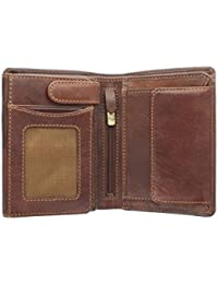 Visconti Tuscany Collection LUCCA Portefeuille en Cuir avec Protection RFID TSC44