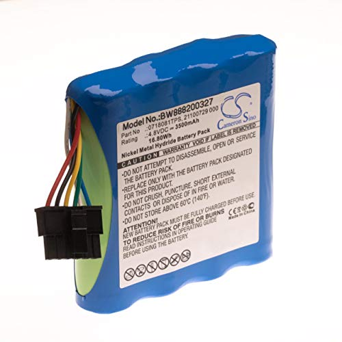 vhbw Akku für LWL OTDR passend für JDSU Smartclass E1 2M, VDSL ADSL TPS Messgerät (3500mAh, 4.8V, NiMH)