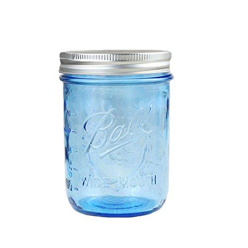 4 x Ball Mason Jar | Blau 475 ml