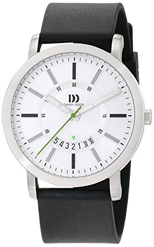 Danish Design Unisex Analogue Quartz Watch with Rubber Strap IQ14Q1046