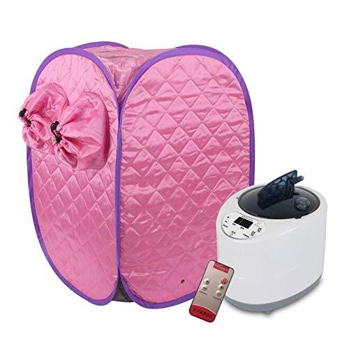 GOUTUIZI Dampfsauna, persönliches Spa zu Hause, speziell für die Beine entwickelt, entgiftet und lindert Stress (pink)