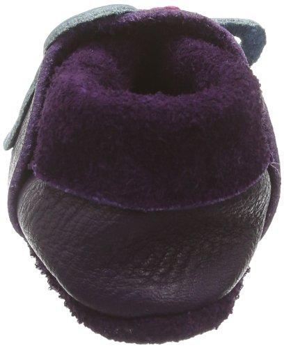 Pololo Butterfly Mädchen Flache Hausschuhe Violett (violett/aubergine)