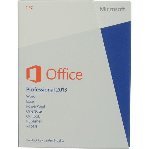 MICROSOFT OFFICE 2013 PROFESSIONAL PLUS 32/64 BIT ESD (eletronic license) only download