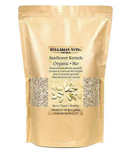 2.5 kg semi di girasole sgusciati, bio certificata, crudi, semi per misto di insalate e dessert, per la cottura del pane e per mangiare, naturali e senza sale, laser pulito