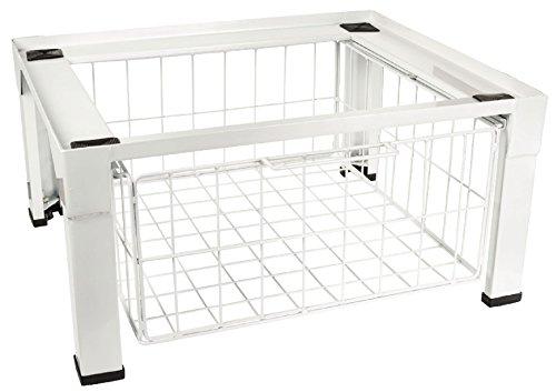 Eurosell Waschmaschinen Zubehör - Auffangwanne / Podest / Schublade / Einbau / Zwischenbaurahmen (Waschmaschine Podest extra schwer)