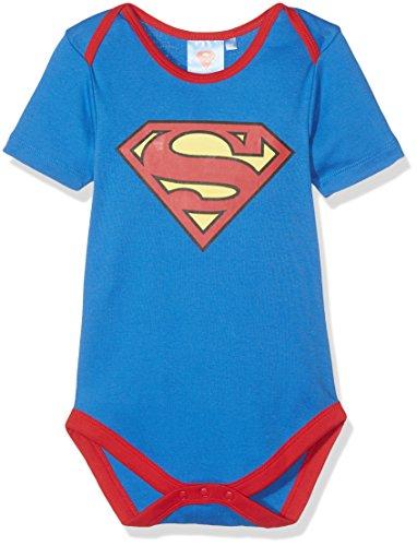 Twins Baby-Jungen Body Superman, Blau (Blau 3502), 74