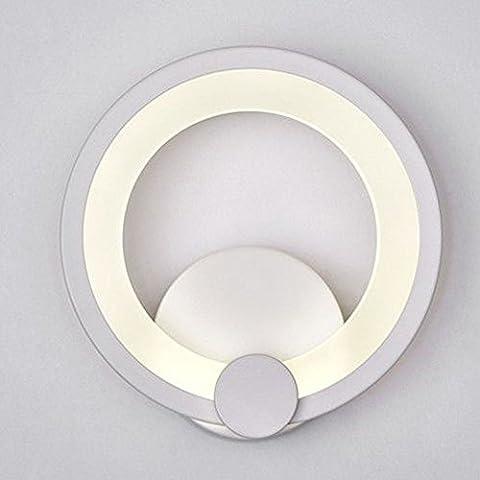 Sanyi moderno LED Round lumi ¨ ¨ re Panel blanco cálido aplique plafón LED Dimmable pared Luminaire R ¨ ¦ glable acrílico aplica