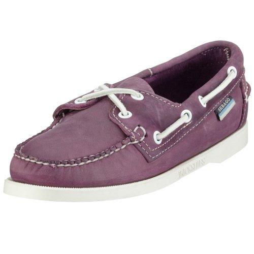 Sebago DOCKSIDES Docksides, Chaussures basses femme Violet (Lavender)