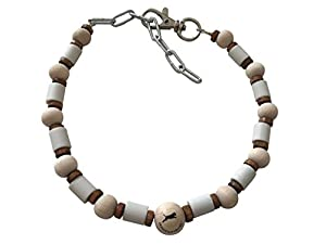 EM Céramique Chaîne/chien/Pipes Wood de Flex en céramique pour chien Chaîne de amberdog