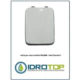 ACB/COLBAM Ideal Standard Toilet Velara White Zip cromo-sedile-asse Toilet Bianco Euro