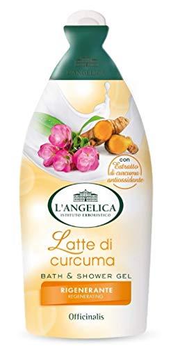 L\'Angelica Bagno Schiuma Latte Di Curcuma 500 ml