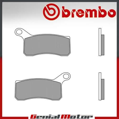 Pastiglie Brembo Freno Anteriori 07GR07.SD CRE SIX COMPETITION 50 2009 > 2011