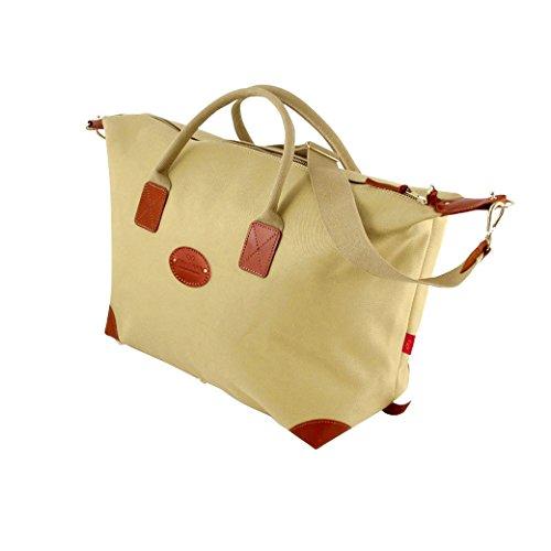 Chapman Bags Bagage cabine, Khaki (Marron) - NMD18-Khaki- With Shoulder Strap