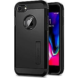 Spigen Coque iPhone 8, Coque iPhone 7 [Tough Armor 2] Heavy Duty, Slim Dual Layer Protective Housse Etui Coque pour iPhone 8/7 - Noir