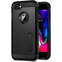 iPhone 8 Case, iPhone 7 Case, Spigen [Tough Armor 2] iPhone 7 Case Cover with Kickstand and Extreme Heavy Duty Protection and Air Cushion Technology for iPhone 7 / iPhone 8 - Black