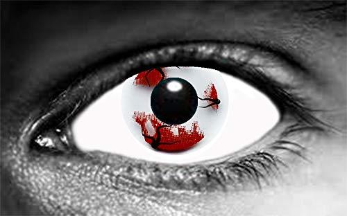 Farbige Kontaktlinsen Oeil Sang Tod