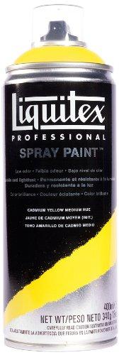Liquitex Professional - Acrílico en spray, 400ml, amarillo cadmio medio