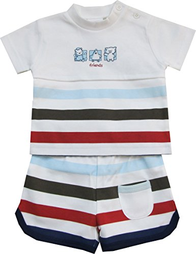 Schnizler Best Friends mit T-Shirt und Shorts - Set De Vêtements Garçon, Multicolore (original 900), 56 Schnizler