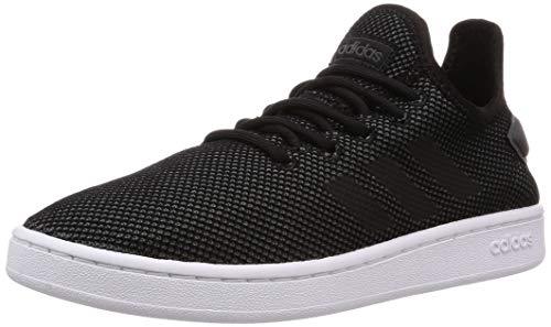 adidas Court Adapt, Scarpe da Tennis Uomo, Multicolore Negbás/Grisei 000, 49 1/3 EU