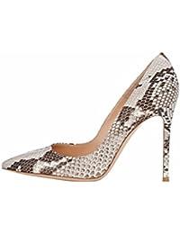 a6a5b99419edd EDEFS Escarpins Femme - Sexy High Heel Shoe - Stiletto Escarpin Nude - Chaussures  Talons Aiguilles