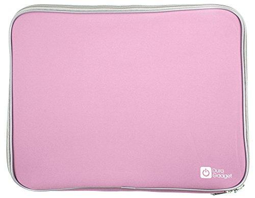 DURAGADGET Neopren Tasche Pink für MSI Laptops: GT75VR Titan Pro, GE72 6QD8H21, GT72VR 6RDAC16H21 Dominator, GT73VR-6REAC32SR451 6RE Titan, GE72MVR 7RG-009DE Apache Pro