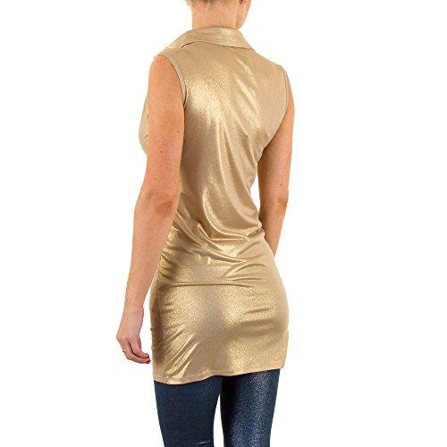Elastische Party Tunika Für Damen bei Ital-Design Gold