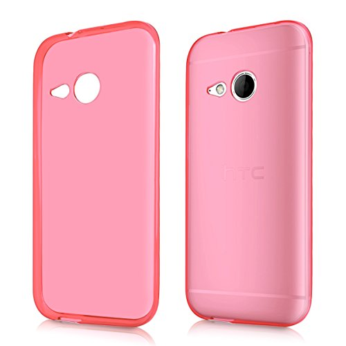 kwmobile HTC One Mini 2 Hülle - Handyhülle für HTC One Mini 2 - Handy Case in Pink