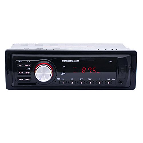 prettygood7 Auto-Stereo-Player, Receiver-INDASH FM Aux Eingang SD USB MP3 Radio playercar Stereo In-Dash Head Car DVD Player mit Touch Screen LCD Monitor