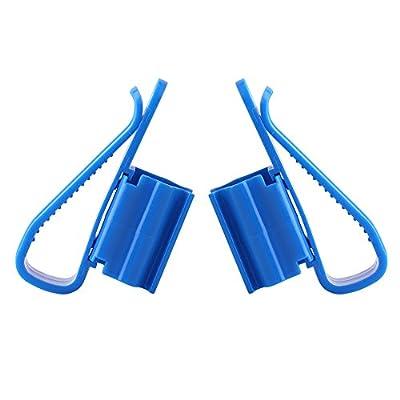 Support de tuyau Aquarium réservoir de poissons en plastique réglable Clip multifonction pour tube d'eau nettoyage Aquarium