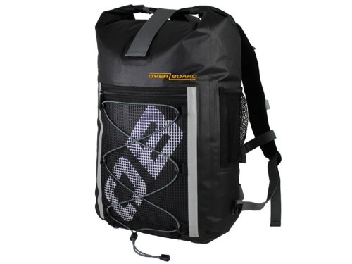 Overboard Ultra-Light Pro-Sports Waterproof Backpack – Black, 30 Litres