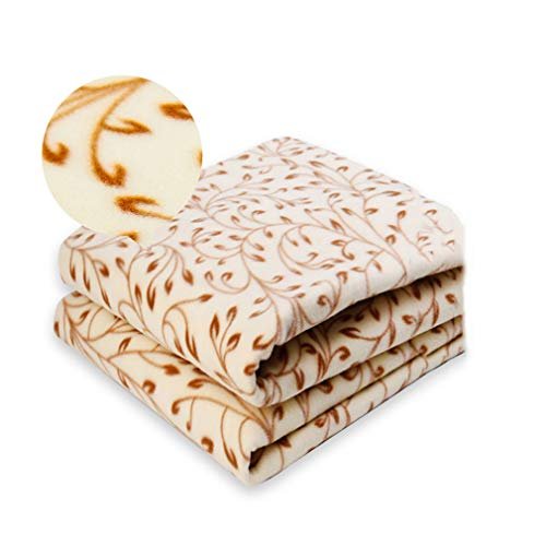 JIAJU Household Electric Blanket Double-Layer dual-Control Thermostat Safety Waterproof Radiation Student Double Wicker Duo Heating Blanket 200 * 180cm -